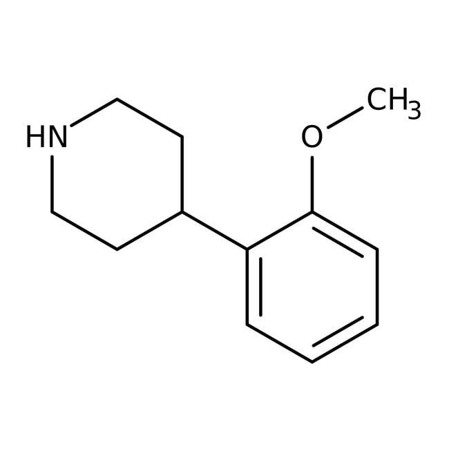 4-(2-Methoxyphenyl)piperidine, 97%, Maybridge™ Amber Glass Bottle; 250mg 4-(2-Methoxyphenyl)piperidine, 97%, Maybridge™
