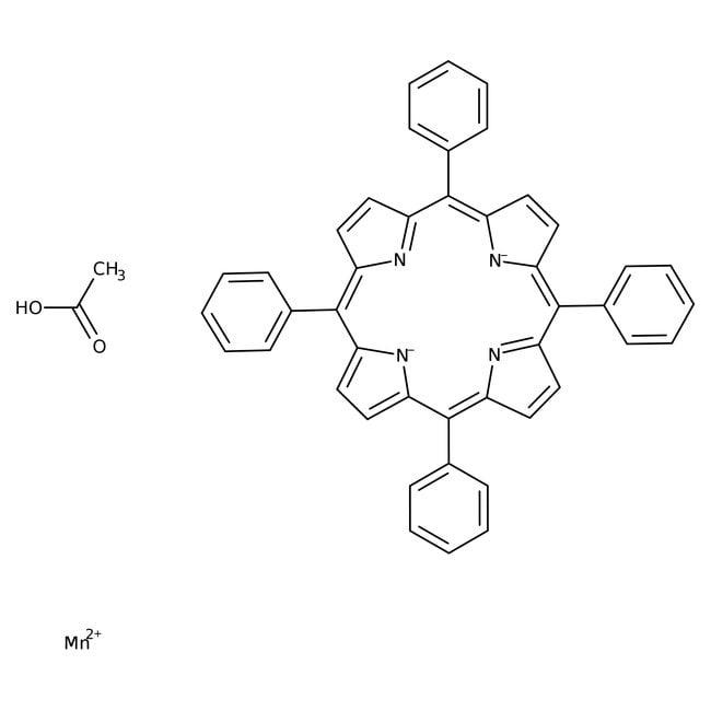 Alfa Aesar™Acétate de manganèse(III) méso-tétraphénylporphine 250mg Alfa Aesar™Acétate de manganèse(III) méso-tétraphénylporphine
