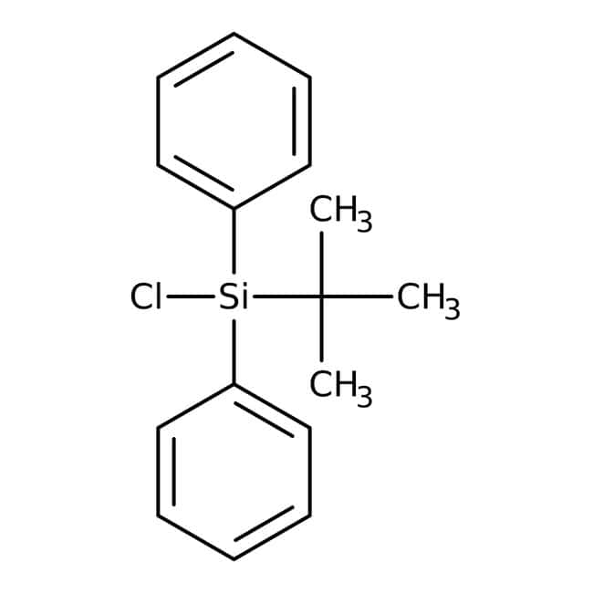 tert-Butylchlorodiphenylsilane, 98%, ACROS Organics