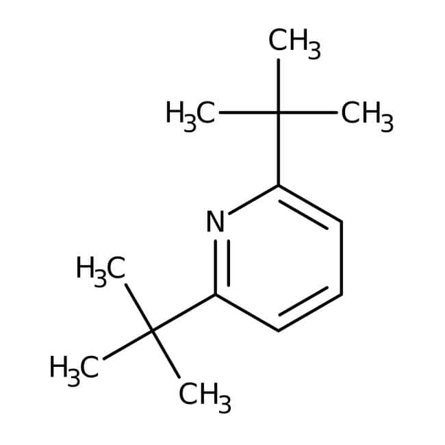 2,6-Di(tert-butyl)pyridine, 97%, Maybridge™, Maybridge™