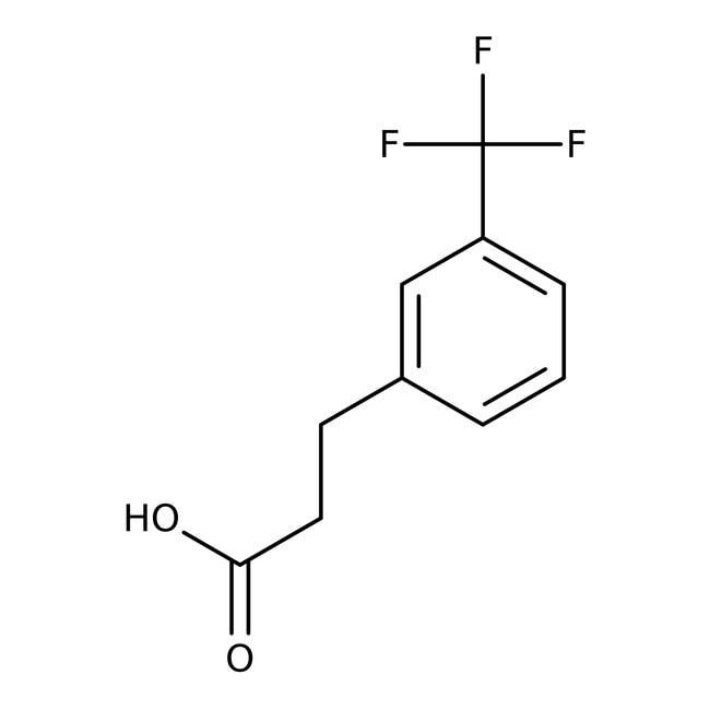 3-[3-(Trifluoromethyl)phenyl]propionic acid, 97%, Alfa Aesar™ 1g 3-[3-(Trifluoromethyl)phenyl]propionic acid, 97%, Alfa Aesar™