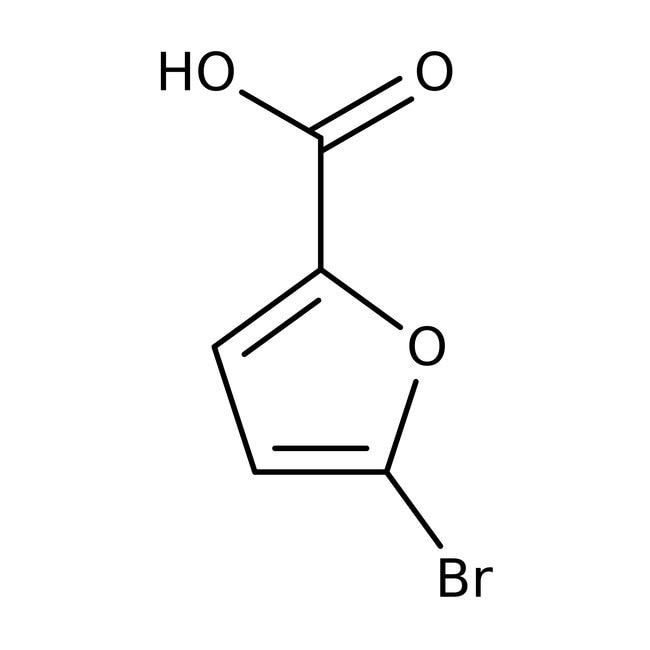 Alfa Aesar™5-Bromo-2-furoic acid, 99% 250g Alfa Aesar™5-Bromo-2-furoic acid, 99%