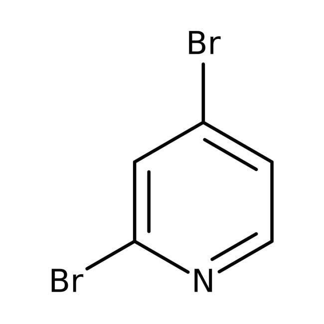 2,4-Dibromopyridine, 97%, ACROS Organics™ 5g 2,4-Dibromopyridine, 97%, ACROS Organics™