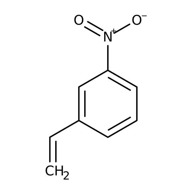 3-Nitrostyrene, 97%, stabilized, ACROS Organics™