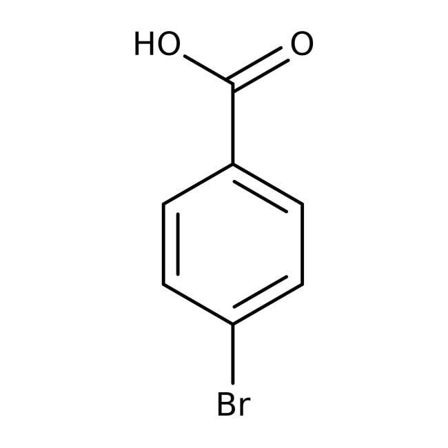 4-Bromobenzoic acid, 97%, ACROS Organics™
