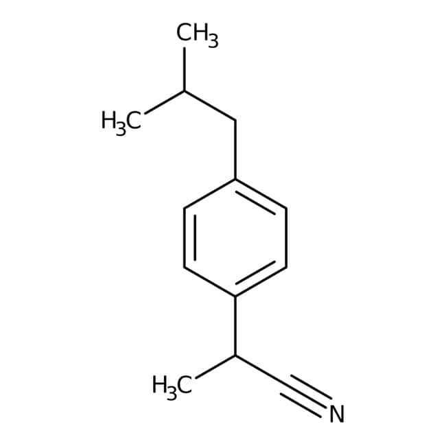 2-(4-Isobutylphenyl)propanenitrile, 97%, Maybridge