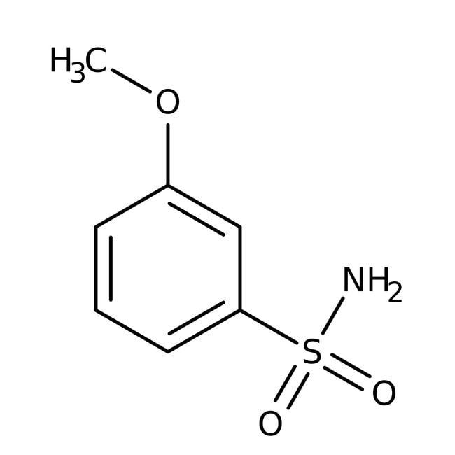 Alfa Aesar™3-Metoxibencenosulfonamida, 97% 5g Alfa Aesar™3-Metoxibencenosulfonamida, 97%
