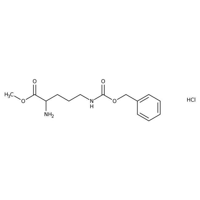 Alfa Aesar™Ndelta-Benzyloxycarbonyl-L-Ornithin-Methylester-Hydrochlorid, 98% 25g Alfa Aesar™Ndelta-Benzyloxycarbonyl-L-Ornithin-Methylester-Hydrochlorid, 98%
