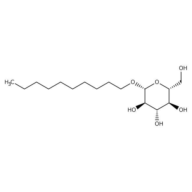 Alfa Aesar™Decyl beta-D-glucopyranoside 1g Alfa Aesar™Decyl beta-D-glucopyranoside