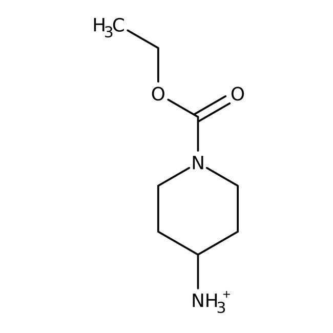 Ethyl-4-amino-1-piperidincarboxylat, 98%, ACROS Organics™ 25ml-Glasflasche Ethyl-4-amino-1-piperidincarboxylat, 98%, ACROS Organics™