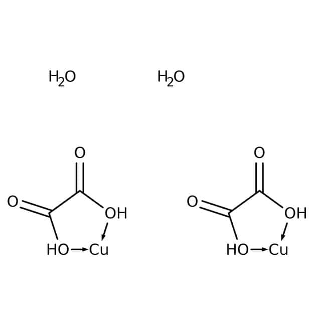 Copper(II) oxalate hemihydrate, 98%, Alfa Aesar