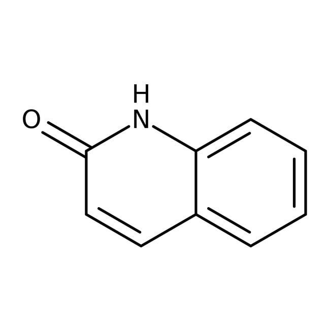 2-Hydroxyquinoline, 98%, ACROS Organics™ 10g; Glass bottle 2-Hydroxyquinoline, 98%, ACROS Organics™