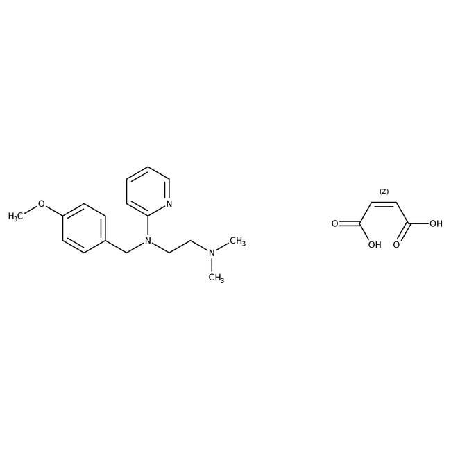 Alfa Aesar  Pyrilamine maleate