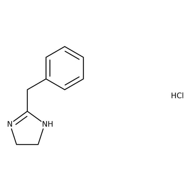 Tolazoline hydrochloride, 99%, ACROS Organics™ 50g; Plastic bottle Tolazoline hydrochloride, 99%, ACROS Organics™