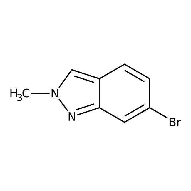 6-Bromo-2-methyl-2H-indazole, 97%, ACROS Organics™