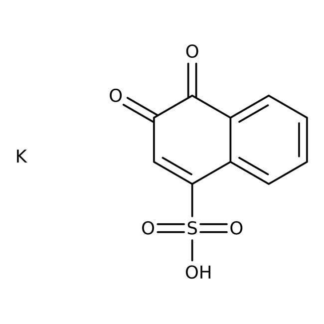1,2-Naphthoquinone-4-sulfonic Acid Potassium Salt (Tech.), 90%, ACROS Organics