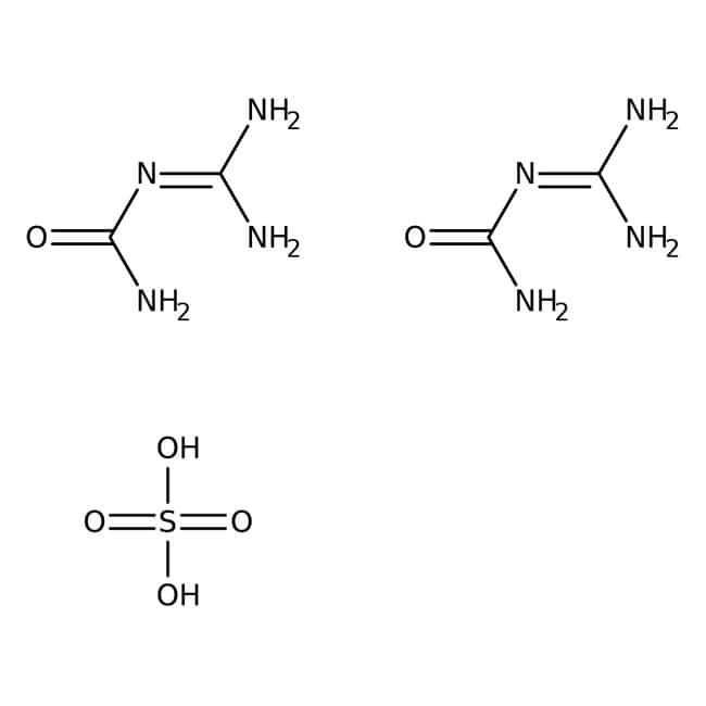 Guanylurea sulfate, 98%, ACROS Organics™ 500g; Plastic bottle Guanylurea sulfate, 98%, ACROS Organics™