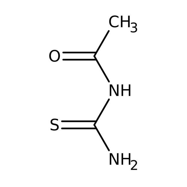 Alfa Aesar™N-Acétylthiourée, 98% 500g Alfa Aesar™N-Acétylthiourée, 98%