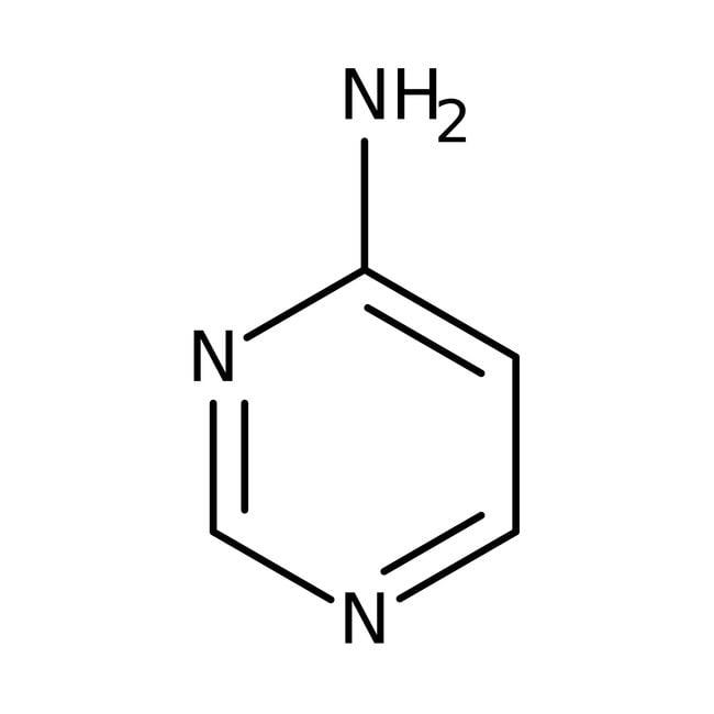 4-Aminopyrimidine, 98%, ACROS Organics™ 1g; Glass bottle 4-Aminopyrimidine, 98%, ACROS Organics™