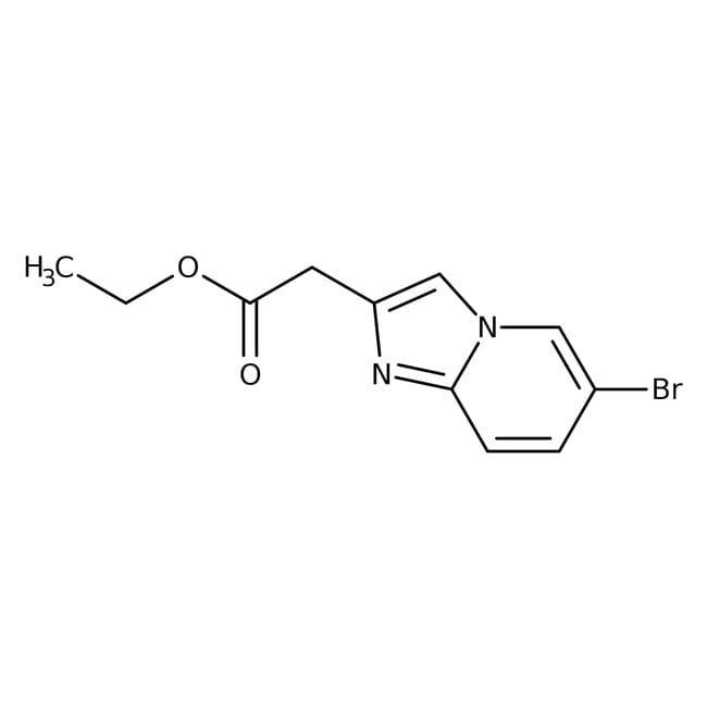 Ethyl 6-bromoimidazo[1,2-a]pyridine-2-acetate, 98%, Alfa Aesar™ 250mg Ethyl 6-bromoimidazo[1,2-a]pyridine-2-acetate, 98%, Alfa Aesar™
