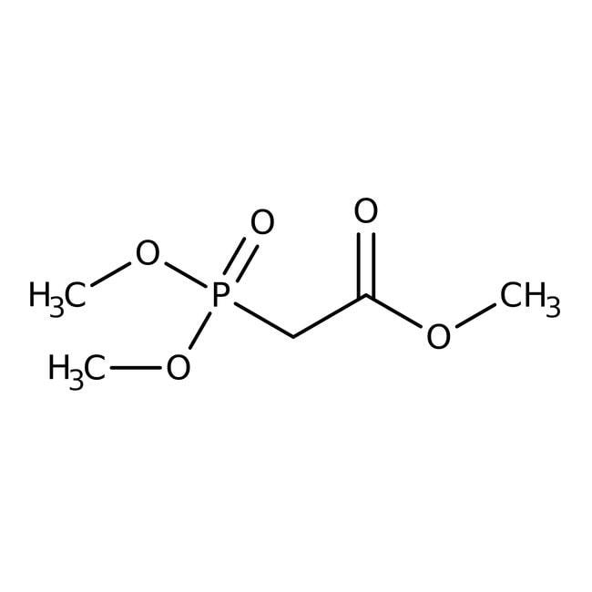 Phosphonoacétate de triméthyle, 98%, ACROSOrganics™ 500g; flacon en verre Phosphonoacétate de triméthyle, 98%, ACROSOrganics™