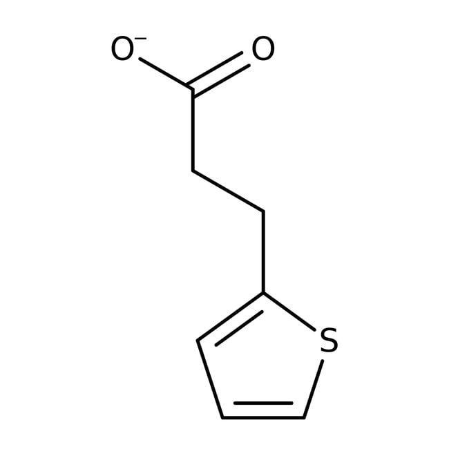3-(2-Thienyl)propanoic acid, 98%, ACROS Organics™ 1g; Glass bottle 3-(2-Thienyl)propanoic acid, 98%, ACROS Organics™