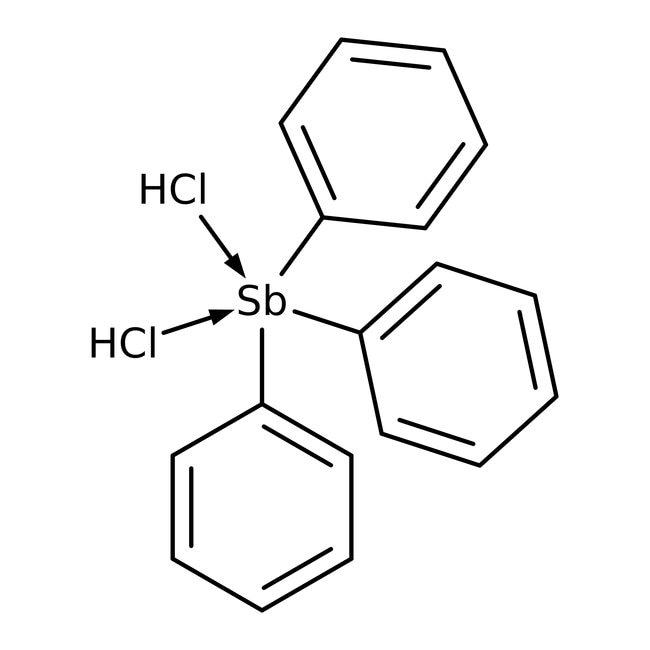 Alfa Aesar™Triphenylantimony(V) dichloride, 99% 5g Alfa Aesar™Triphenylantimony(V) dichloride, 99%