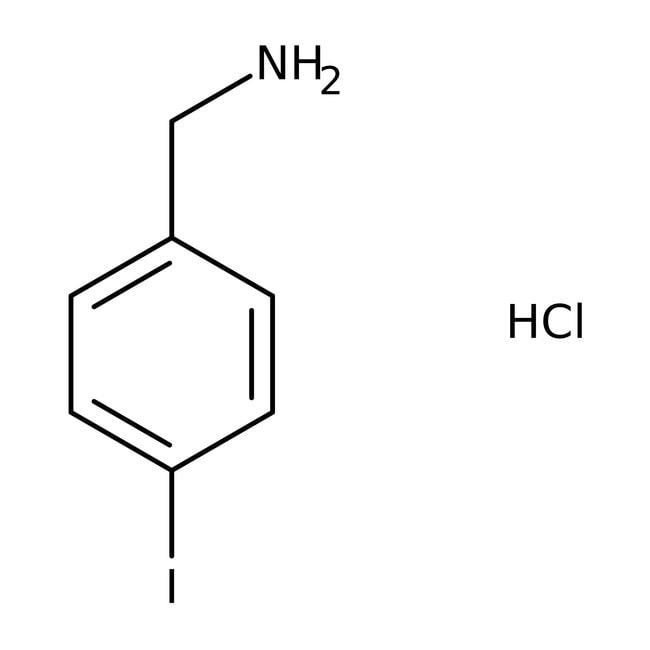 Alfa Aesar™4-Iodobenzylaminhydrochlorid, 97% 1g Alfa Aesar™4-Iodobenzylaminhydrochlorid, 97%
