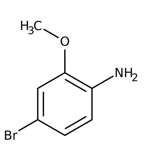Alfa Aesar™4-Brom-2-Methoxyanilin, 98% 1g Alfa Aesar™4-Brom-2-Methoxyanilin, 98%