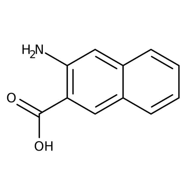 3-Amino-2-naphthoic acid, 85%, tech., ACROS Organics™