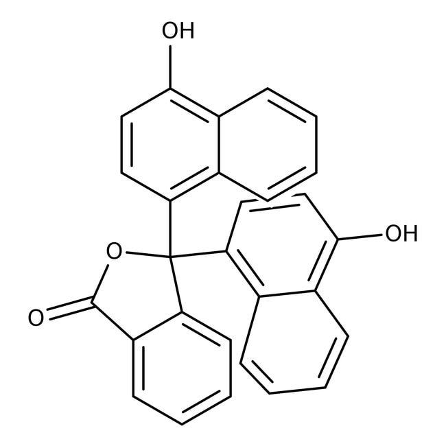 -Naphtholphthalein, pure, indicator, ACROS Organics