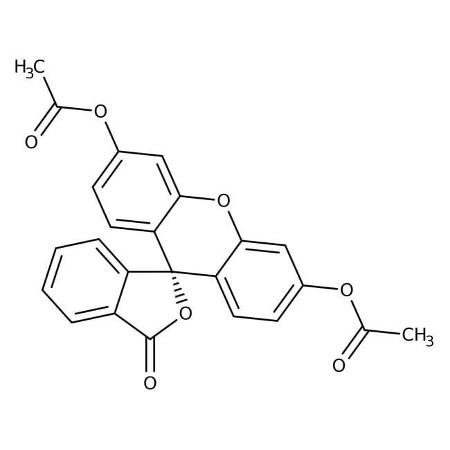 Fluorescein diacetate, 97%, pure, ACROS Organics™ 25g Fluorescein diacetate, 97%, pure, ACROS Organics™