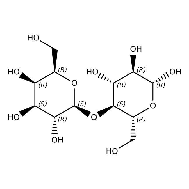 β-D-Lactose, ca 80% β and 20% α, ACROS Organics™ 2kg; Plastic bottle β-D-Lactose, ca 80% β and 20% α, ACROS Organics™
