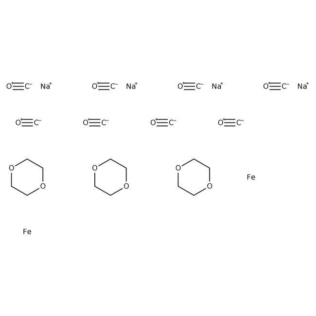 Disodium Tetracarbonylferrate, Compound with 1,4-dioxane (1 to 1.5) 94%, ACROS Organics