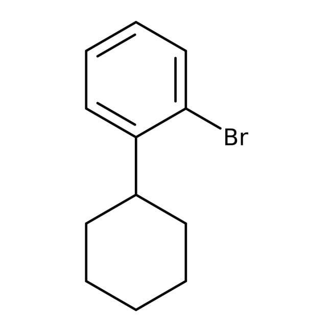 Alfa Aesar™1-Brom-2-cyclohexylbenzol, 97% 5g Alfa Aesar™1-Brom-2-cyclohexylbenzol, 97%