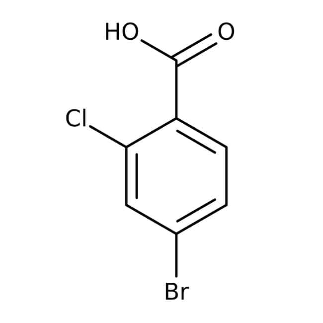 4-Bromo-2-chlorobenzoic acid, 98%, ACROS Organics™ 1g 4-Bromo-2-chlorobenzoic acid, 98%, ACROS Organics™