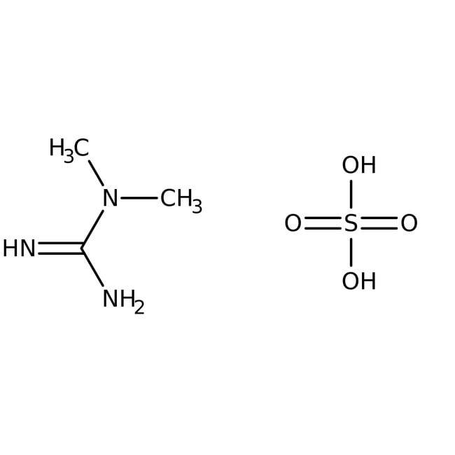 N,N-Dimethylguanidine sulfate, 98%, ACROS Organics™