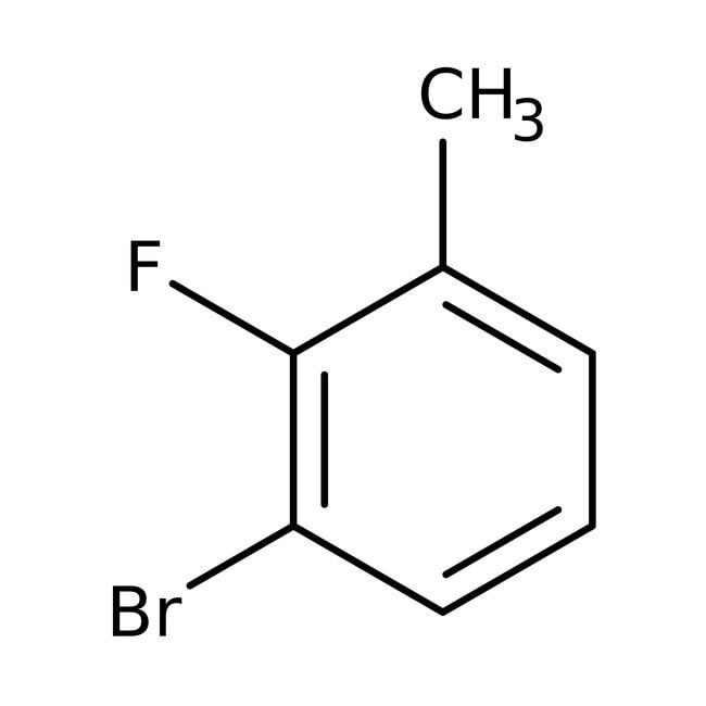 Alfa Aesar™3-Bromo-2-fluorotoluene, 98% 25g Alfa Aesar™3-Bromo-2-fluorotoluene, 98%