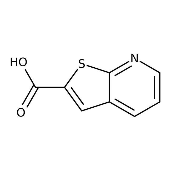Thieno-[2,3-b]-pyridin-2-carbonsäure, 95%, Maybridge Braunglasflasche, 1g Thieno-[2,3-b]-pyridin-2-carbonsäure, 95%, Maybridge