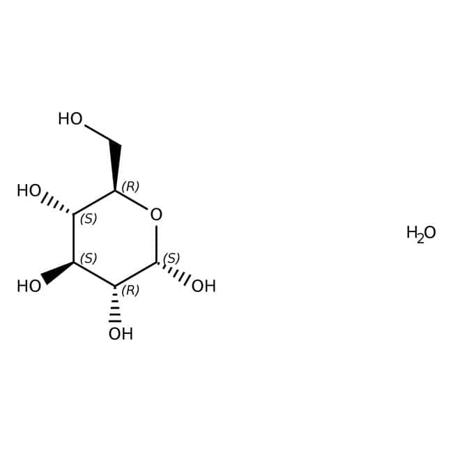 Glucose monohydrate, Honeywell Fluka™ FLACON EN POLY DE 1KG Glucose monohydrate, Honeywell Fluka™