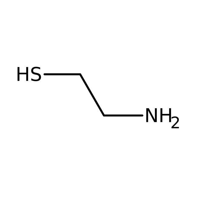 2-Aminoethanethiol, 95%, ACROS Organics™ Glass bottle; 25g 2-Aminoethanethiol, 95%, ACROS Organics™