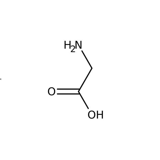 Glycine hydrochloride, 98+%, ACROS Organics™ 2.5kg; Glass bottle Glycine hydrochloride, 98+%, ACROS Organics™