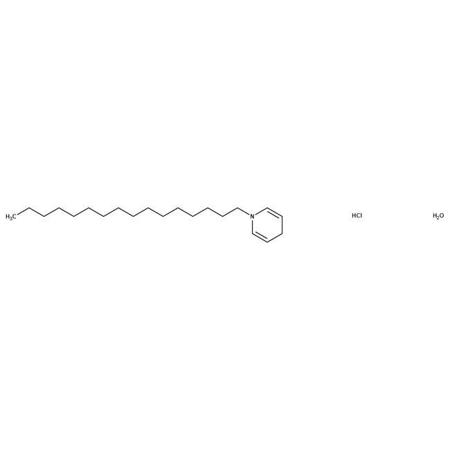 Alfa Aesar™(1-Hexadecyl)pyridinium chloride monohydrate, 98% 100g Alfa Aesar™(1-Hexadecyl)pyridinium chloride monohydrate, 98%