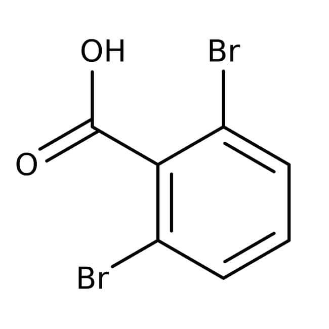 2,6-Dibromobenzoic acid, 95%, Acros Organics™: Halobenzoic acids and derivatives Benzoic acids and derivatives