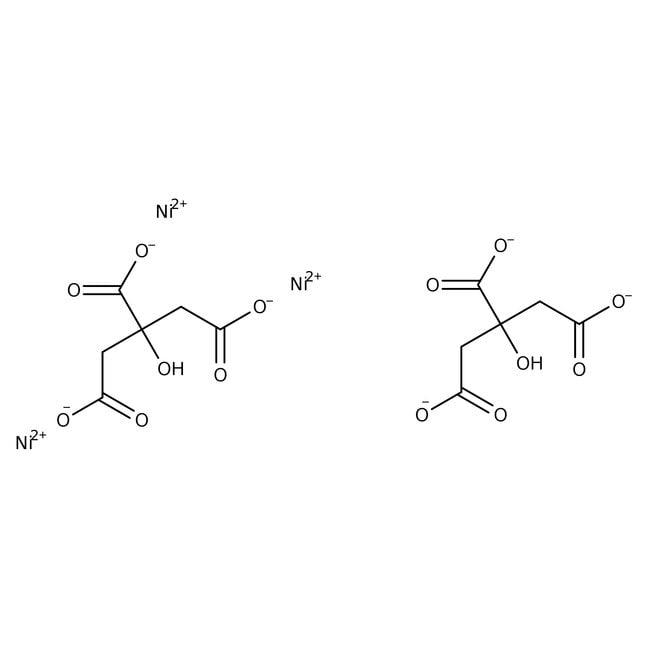 Alfa Aesar™Nickel(II) citrate hydrate, 98+% 100g Alfa Aesar™Nickel(II) citrate hydrate, 98+%