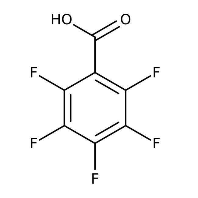 Alfa Aesar™Pentafluorobenzoic acid, 99% 100g Alfa Aesar™Pentafluorobenzoic acid, 99%