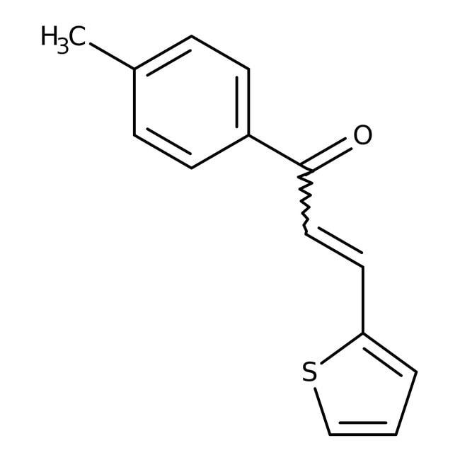 Alfa Aesar™3-(2-Thienyl)-1-(p-tolyl)-2-propen-1-one, 98% 25g Alfa Aesar™3-(2-Thienyl)-1-(p-tolyl)-2-propen-1-one, 98%