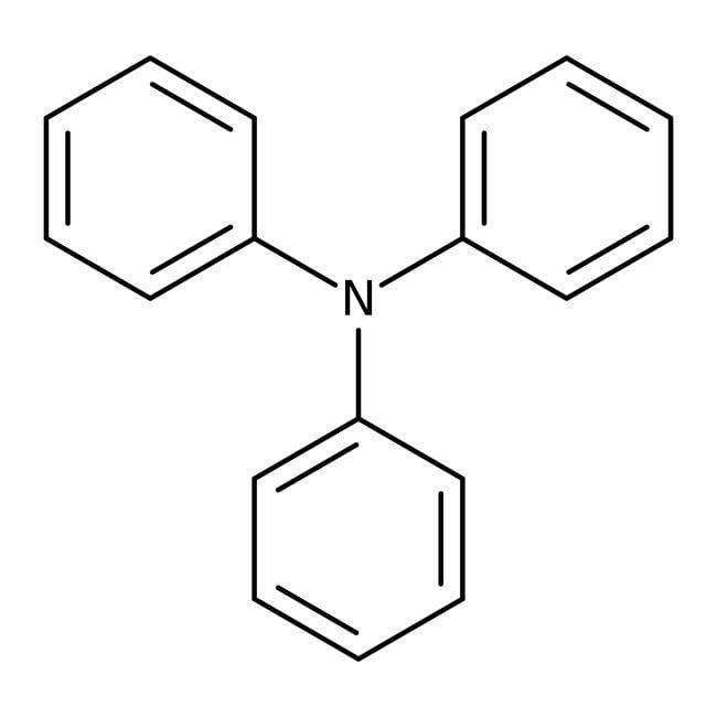 Triphénylamine, 99+%, ACROSOrganics™ 25g; flacon en verre Triphénylamine, 99+%, ACROSOrganics™