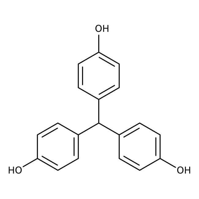 4,4',4''-Trihydroxytriphenylmethane, 97%, Acros Organics 100g, Glass bottle 4,4',4''-Trihydroxytriphenylmethane, 97%, Acros Organics