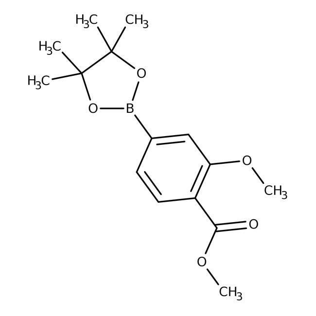 3-Methoxy-4-(methoxycarbonyl)phenylboronic acid pinacol ester, 95%, ACROS Organics™